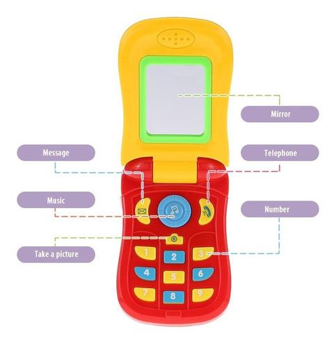 3*coolplay colorido juguete telfono celular del beb
