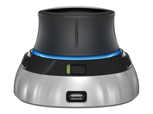 3d 6dof inalambrico space-mouse 3dx-700066 3dconnexion