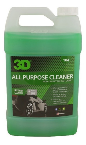 3d all purpose cleaner multiuso interior highgloss rosario