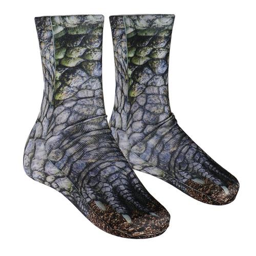 3d animal printed paw crew socks unisex funny fashion adult
