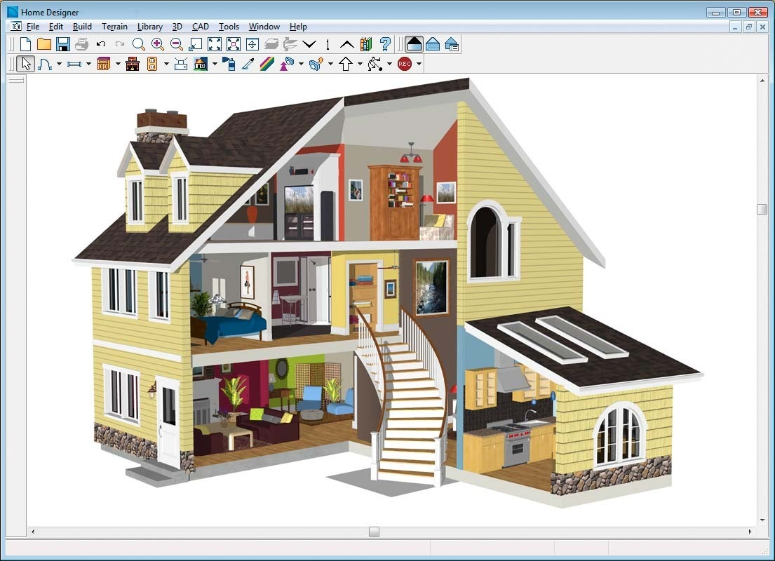 3d home design software para dise o de casa y jardin en 3d for Programa para construir casas 3d