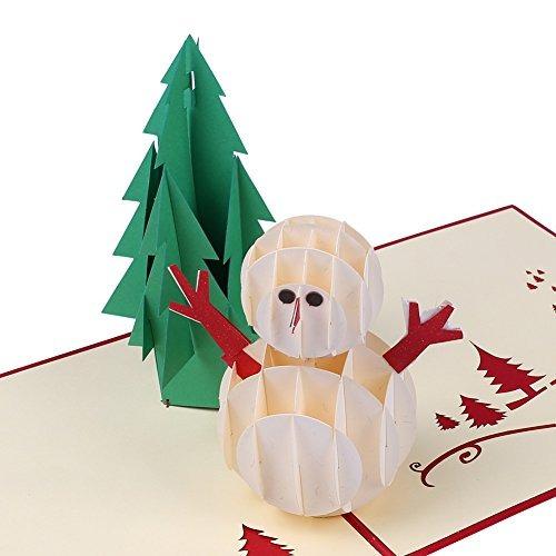 3d las tarjetas de navidad papercraft 7 pack pop up tarjetas