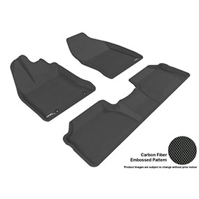 Passenger /& Rear Floor GGBAILEY D4012A-S1A-RD-IS Custom Fit Car Mats for 2001 2004 2003 2002 2005 Honda Civic Coupe Red Oriental Driver