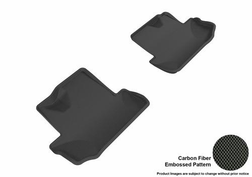 3d maxpider floor mat, segunda fila, negro