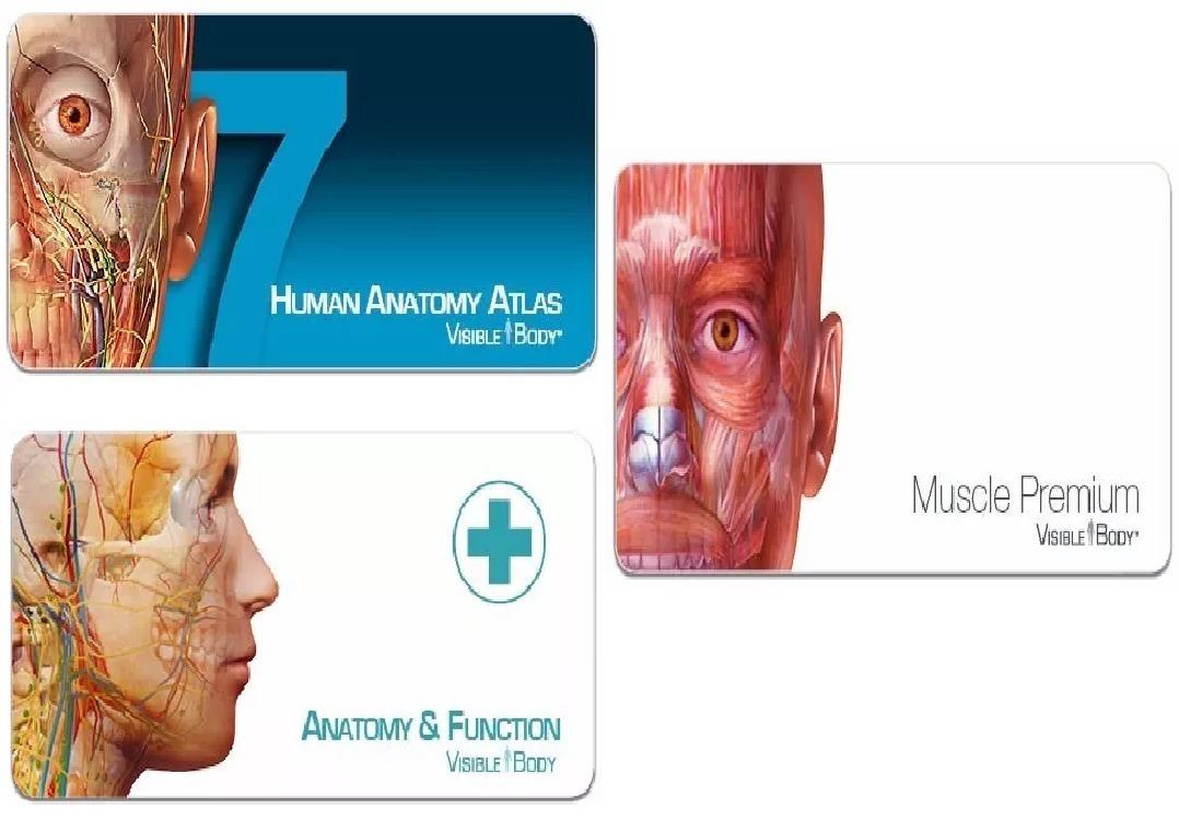 3d Programa Medicina Visible Body Anatomia Y Fisiologia - $ 169.00 ...