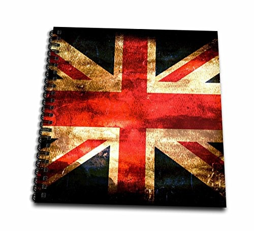 3d Rose Bandera De Reino Unido Libro De Dibujo 221900 En