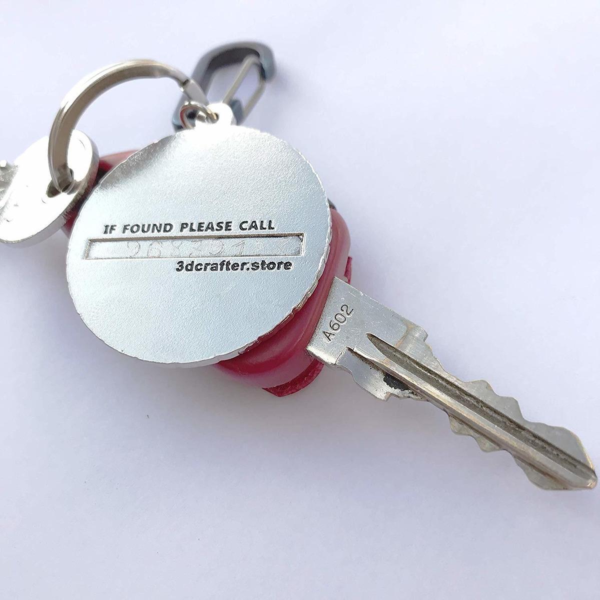 Replica. esmalte Etiqueta de metal cromado Llavero Wrangler para accesorios de coche