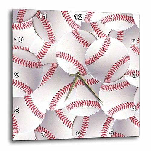3drose dpp_161323_1 patrón de béisbol blanca