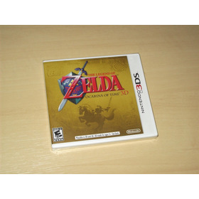 3ds - The Legend Of Zelda Ocarina Of Time 3d (americano)