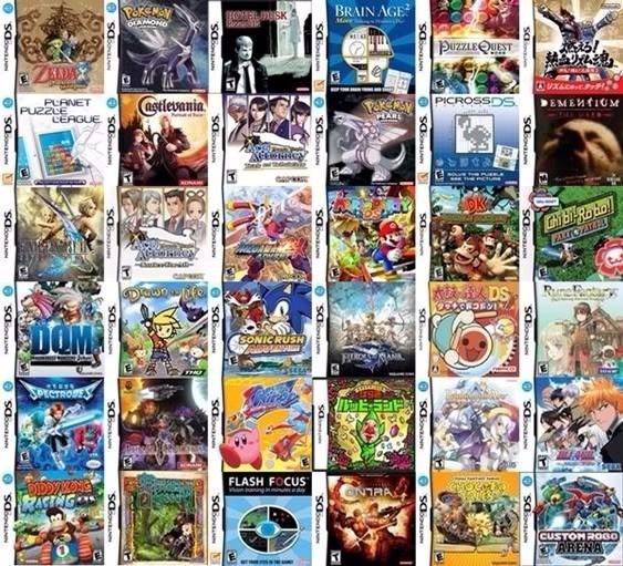 Cartucho 1500 Jogos De Ds E Dsi Para 3ds, 2ds E New 3ds Xl