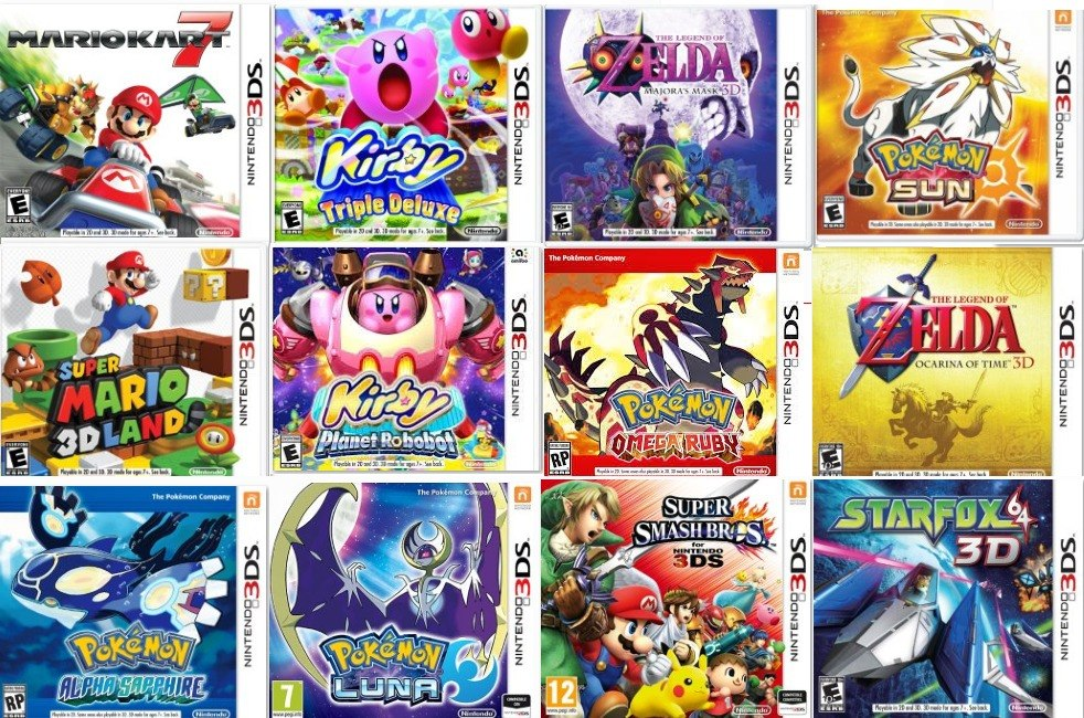Juegos Digitales Para Nintendo 3ds 2ds New 3ds New 2ds Bs