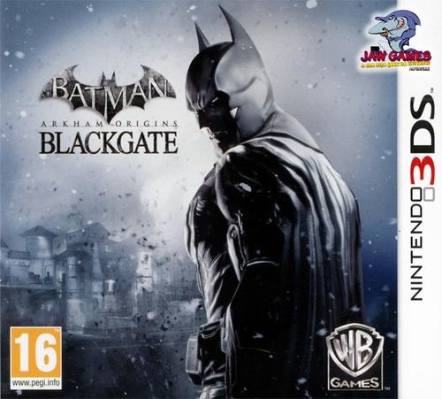 3ds - batman arkham origins: blackgate - novo