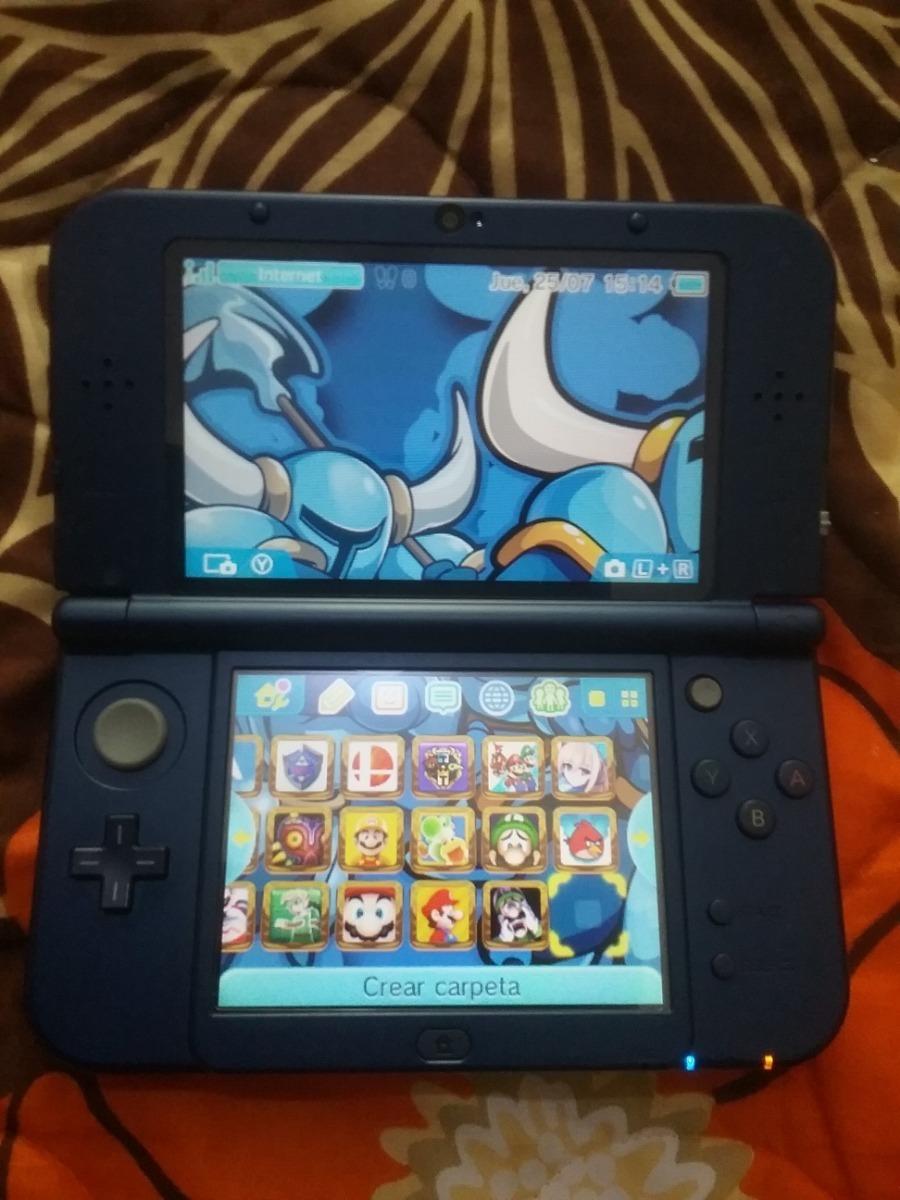 Nintendo New 3ds Xl Galaxy Con Boot9strap Y Micro Sd 64gb