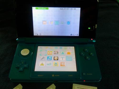 3ds cosola zelda oscarina pokemon y mario3d rayman3d strefig