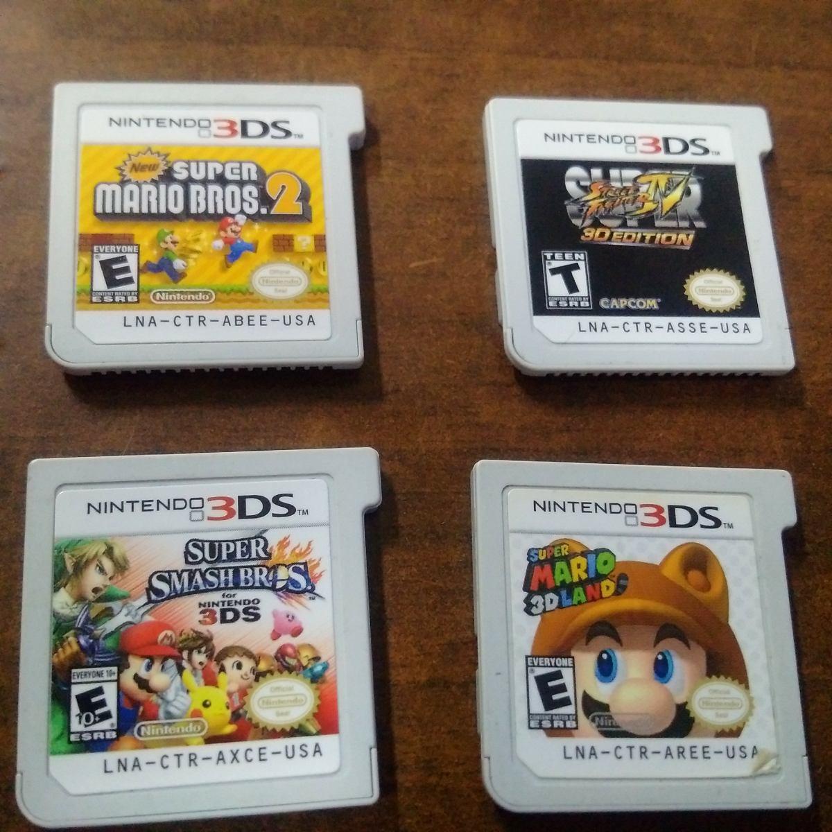 Nintendo 3ds Xl Plomo Version Mario Mas 4 Juegos S 900 00 En