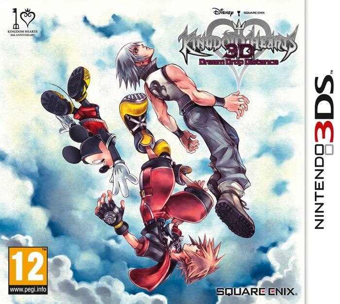 3ds Kingdom Hearts Dream Drop Distance Video Juegos Amazing S 184