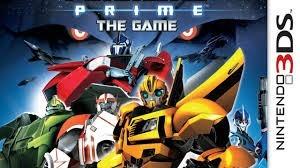 3ds transformers prime fisico nuevo original sellado