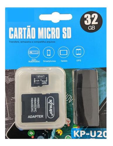 3em1 cartão memória 32gb class10 pendrive sb adaptador sd