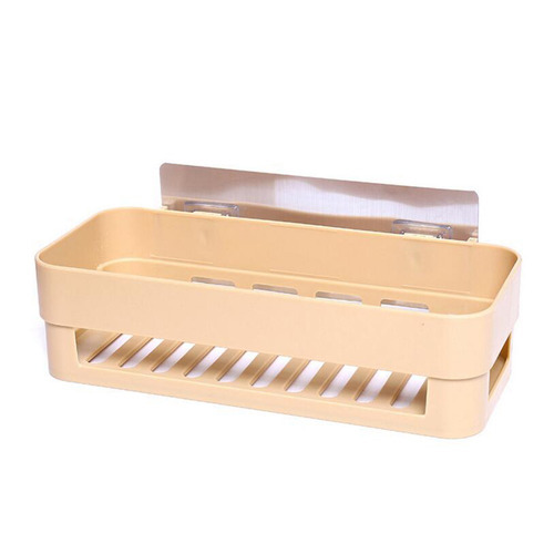3*estante adhesivo fuerte estante de plstico sin perforar