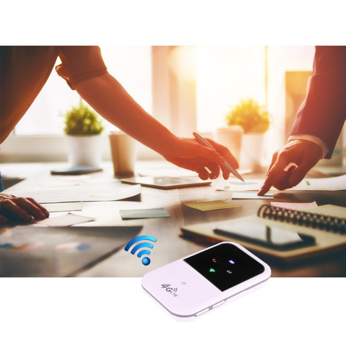 3g 4g wifi wireless mobile router blanco