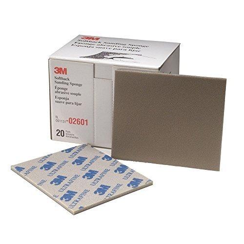 3m 02601 esponja de lijado suave ultrafino softback, 4-1 / 2