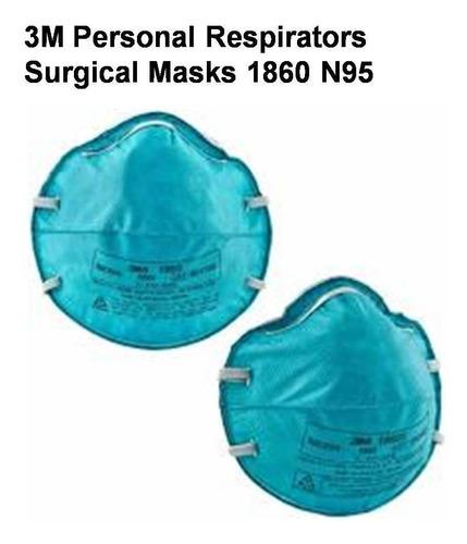 3m #1860 mascarillas $1.48 c/u - guantes industriales