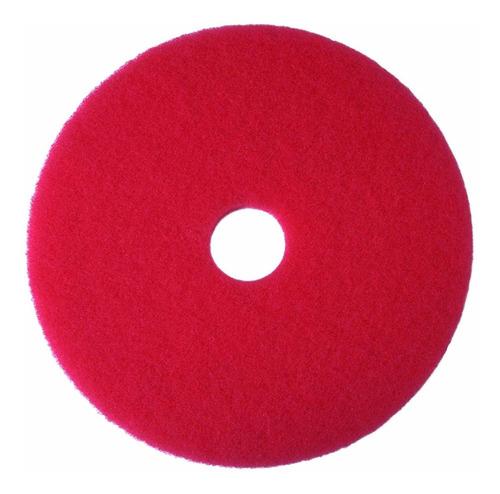 3m buffer red pad 5100, 24  floor buffer, la máquina de uso