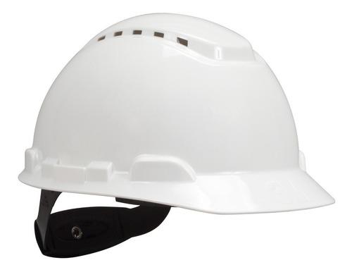 3m casco matraca 4-puntos blanco ventilado h-710v