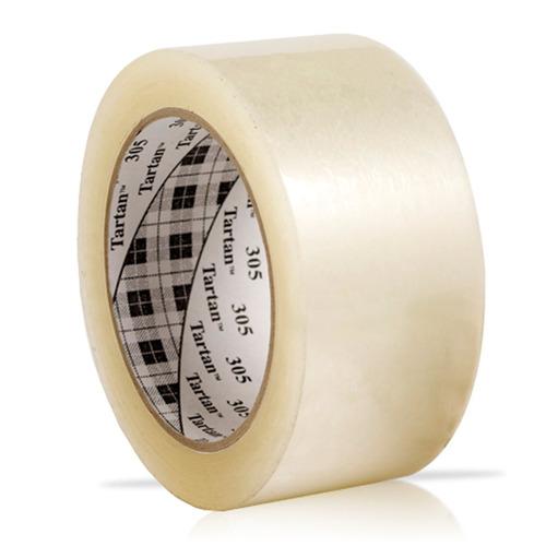 3m cinta de empaque tartan transparente 48mm x 100yds