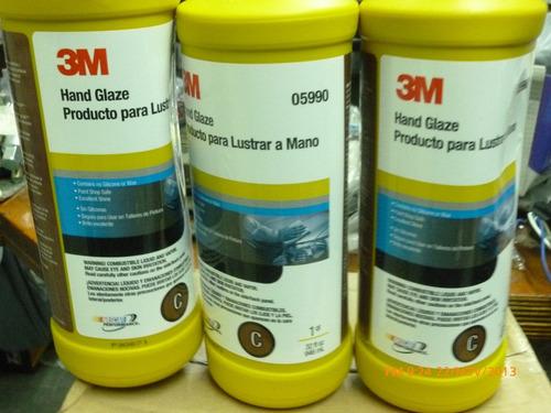 3m hand glaze,producto para pulido de autos a mano o maquina