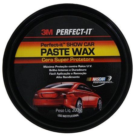 3m perfect-it cera paste wax super protetora - (200g)