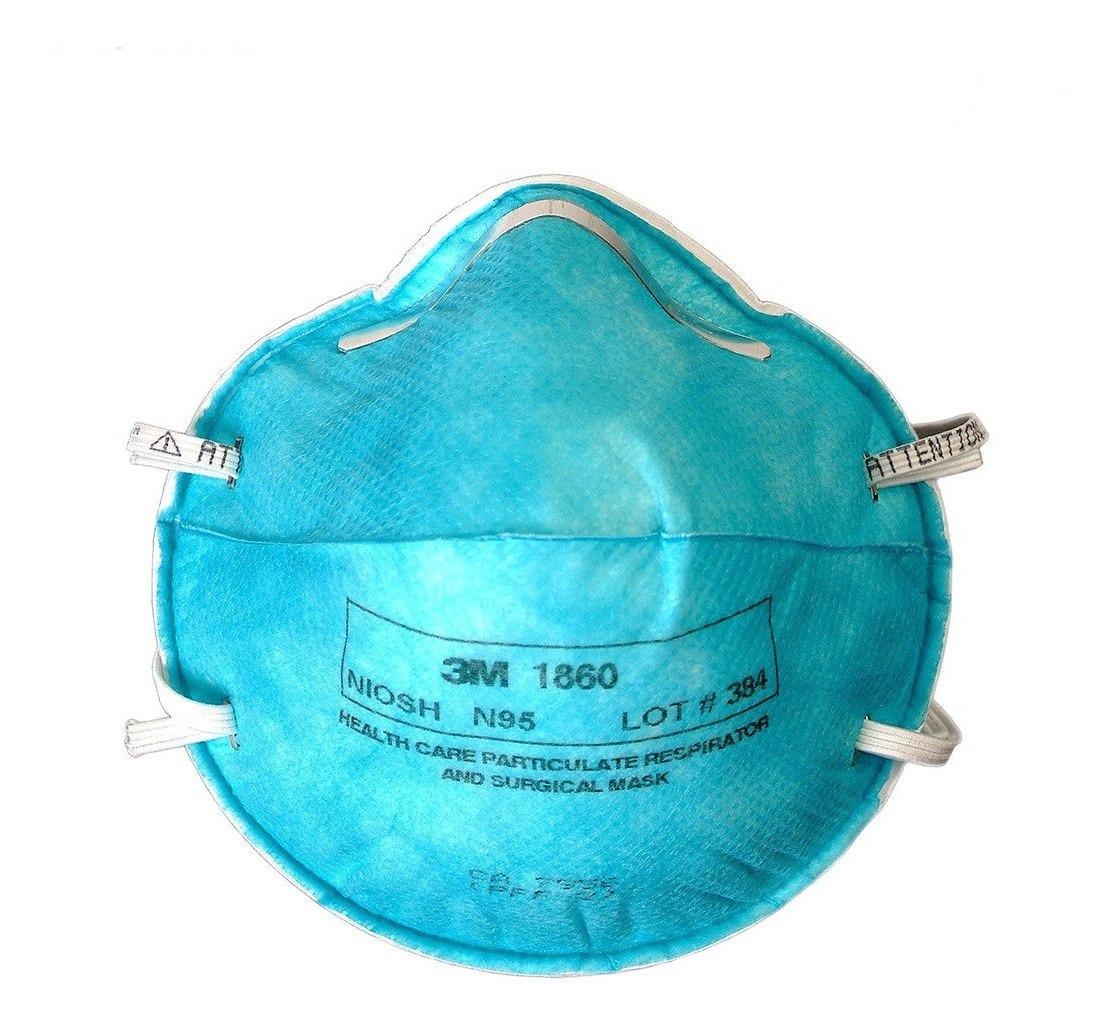 3m Respirador N95 Desechable Medico Particulas 1860