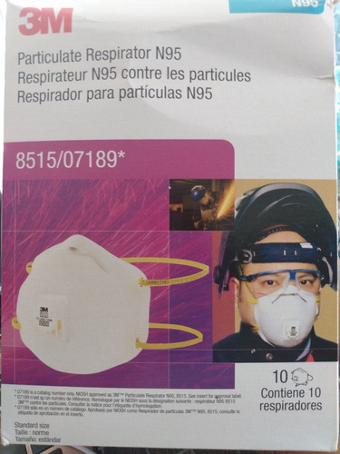 3m respirador para particulas n95