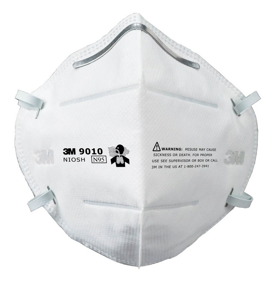 Individual Respirador Plegable N95 9010 3m Empaque