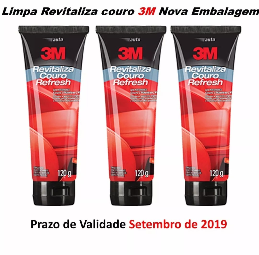 4a269e946a11c 3m - Revitaliza Couro Refresh 120gr. 3m - Kit C 3 Unidades - R  139 ...