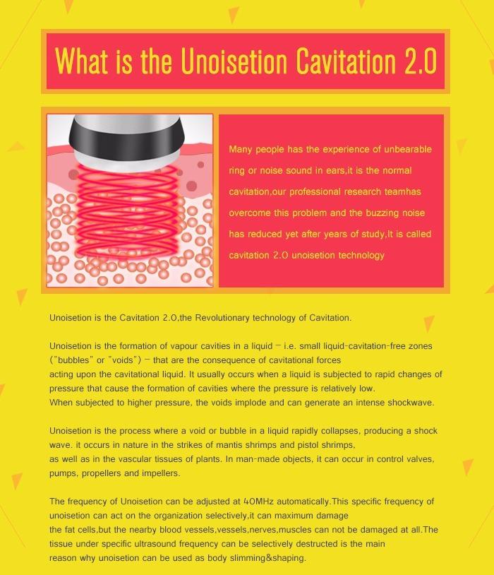 3mhz Cavitação 2 0 3d Radiofrequência Lipolaser Vácuo