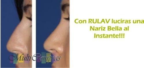 3pares d corrector nasal nariz bella 30seg sin cirugia rulav