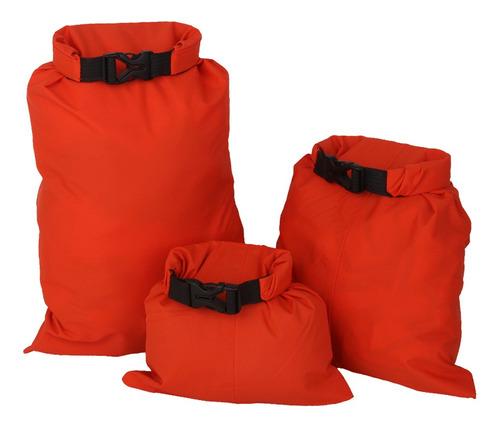 3pcs impermeabilizan la bolsa seca del almacenaje que
