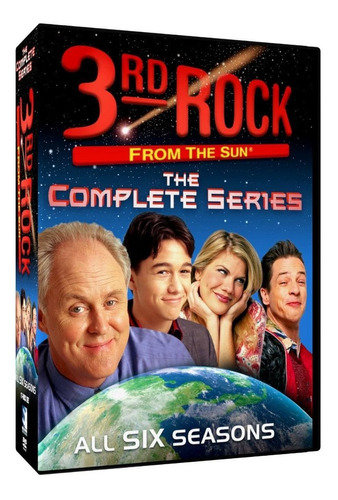3rd rock from the sun serie completa importada dvd