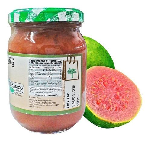 3un geléia de goiaba orgânica sem açúcar carraro 270g