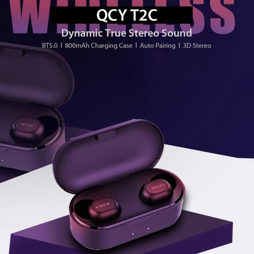 3*versin global xiaomi qcy t2c tws bt auriculares