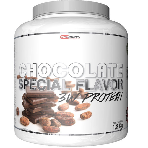 3w protein chocolate 1.8kg procorps