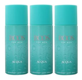 Desodorante 150ml Acqua 3x Boos Hombre Perfumesfreeshop ZiOkXuP