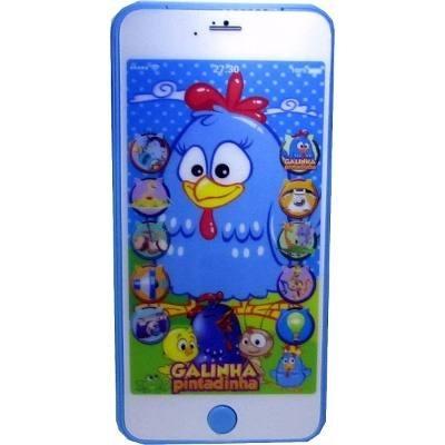 3x celular infantil iphone galinha pintadinha brinquedo 2x3d