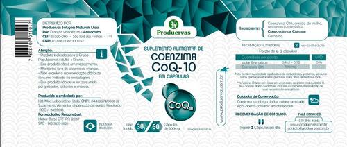 3x coenzima q10 100 mg 180 caps coq10 a original oferta