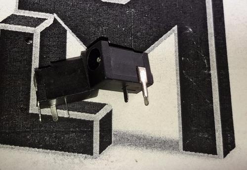 3x conector jack hembra barrel jack