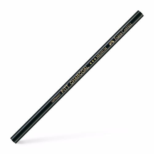 3x lápis pastel charcoal medium carvao faber castell pitt