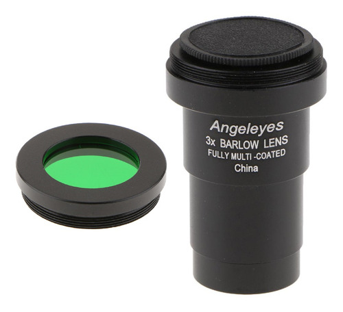 3x lente barlow telescópio para fotografia astronômica mul