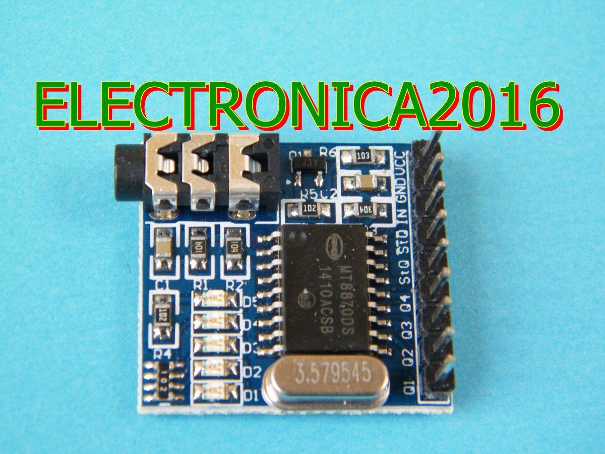 3x Mt8870 Dtmf Decoder Modulo Voice Telepone 19000 En Using Mt8870de Cargando Zoom