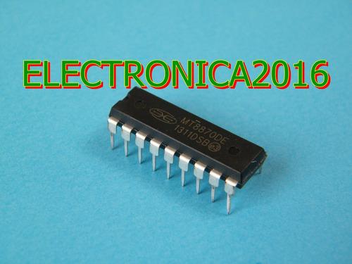 3x mt8870de mt8870 receptor decodificador celular cm8870